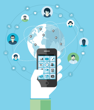 Mobile App Minute: One In Four People To Have Smart Phones By 2015